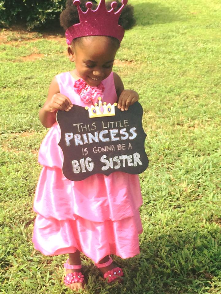 baby announcement 2 big sister