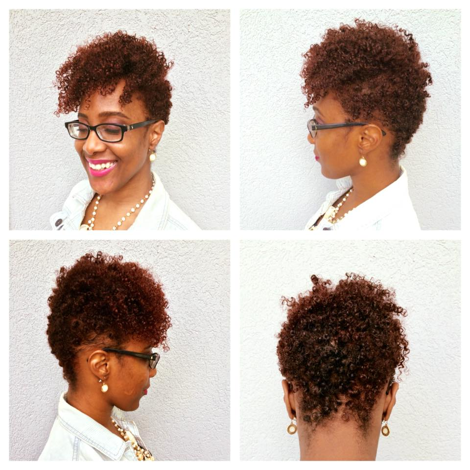 truly tafakari new haircut natural hair tapered edgy